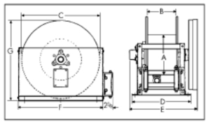 Hose Reel Diagram