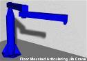 Freestanding crane