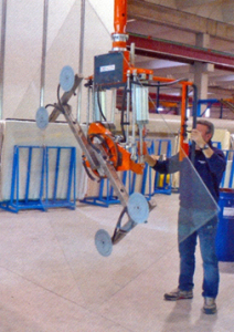Vacuum Lifting and Rotating