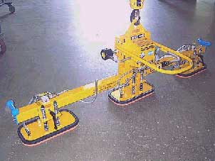 Three Pad Lifter