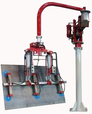 Manipulators have virtually unlimited applications with ends specifically designed to your needs.