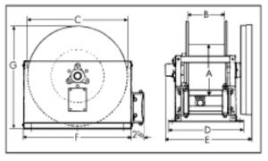 Hose Reel Diagram