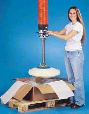 Vacuum tube lift