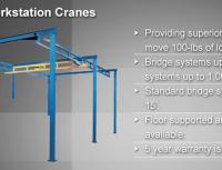 Free Standing Work Station Bridge Cranes