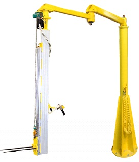 Articulated Jib column lifter